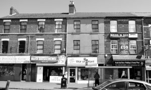 Fig. 12 Buildings and commercial signage on Belfast's Antrim Road