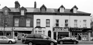 Fig. 15 Buildings and commercial signage on Belfast's Ormeau Road