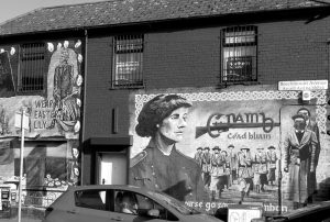 Fig. 2 Mural, Falls Road, Belfast