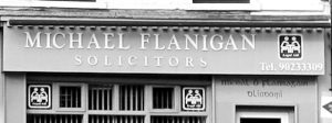 Fig. 23 The name, Michael Flanagan, is culturally significant and will be familiar to the community