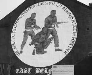 Fig. 3 Paramilitary mural Newtownards Road